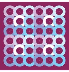 circles geometric pattern vector image vector image
