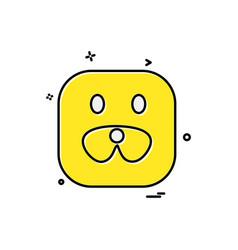animals icon design vector image