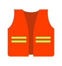 Construction Jacket vector image