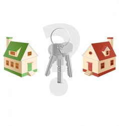 cottage choosing vector image vector image