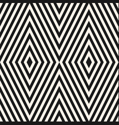geometric seamless pattern with rhombuses stripes vector image