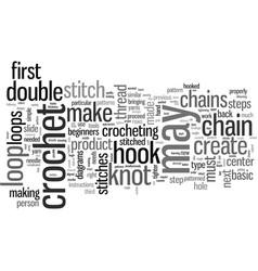 How to crochet vector