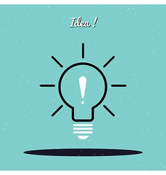Idea vector image