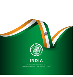 India independence day template design vector
