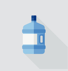 large water bottle vector image