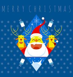 Merry christmas symbol vector
