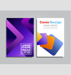 modern abstract covers pattern background vector image