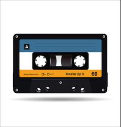 music cassette cassette tape art image vector image
