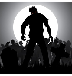 zombies vector image