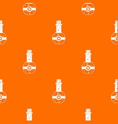 flask of love elixir pattern seamless vector image vector image