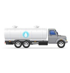 cargo truck 11 vector image vector image
