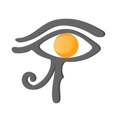 Eye of Horus icon cartoon style vector image