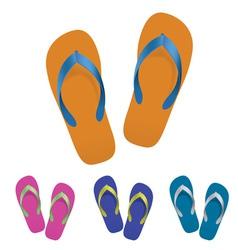 flip flop set vector image