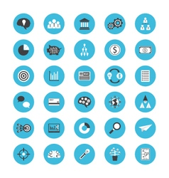 396business flat iconVS vector image