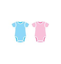 Baby body suit onesie vector