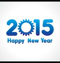 Creative happy new year 2015 design stock vector