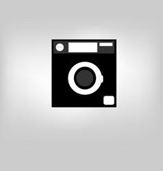 icon laundry vector image