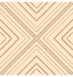 Repeating geometric tiles of original doodle vector