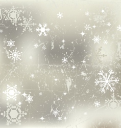winter background snowflakes illustration vector image