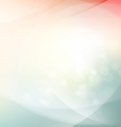 Abstract sunshine shiny flow background vector image vector image