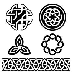 Celtic irish patterns and knots - vector