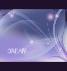 dreamy design vector image vector image