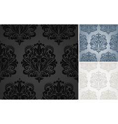 Beautiful damask pattern vector image vector image