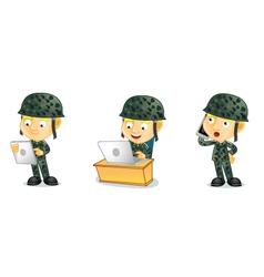 Army 3 vector