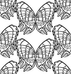 background of butterflies vector image
