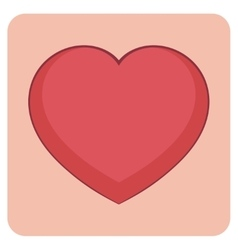 Cartoon layered - bright vector image