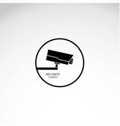 icon surveillance camera vector image