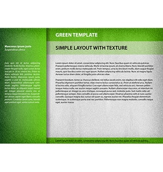 template green vector image