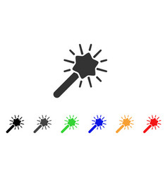 wizard tool icon vector image