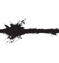 banner splash vector image vector image