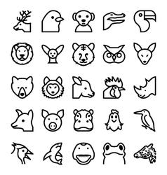 Animals and Birds-4 vector