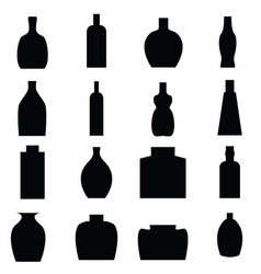Bottle all vector image vector image