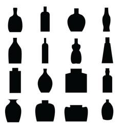 Bottle all vector image