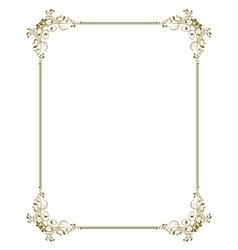 decorative frame - vector image