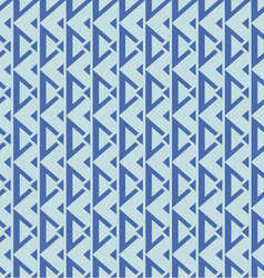 geometric seamless pattern blue palette vector image