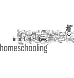 How to homeschool your child dlvy vector