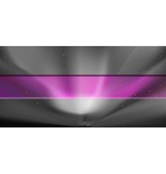 Nothern blue aurora background vector image