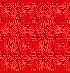 red seamless square pattern background - abstract vector image