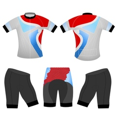 Sports cycling vector