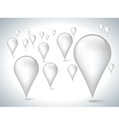 White pointer vector