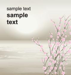pastel horizons vector image vector image
