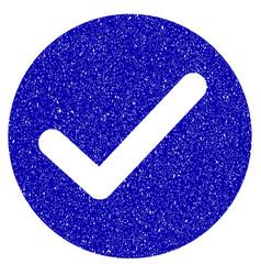 Apply icon grunge watermark vector