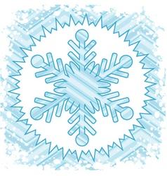 Retro snow vector