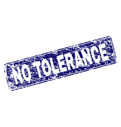 Scratched no tolerance framed rounded rectangle vector