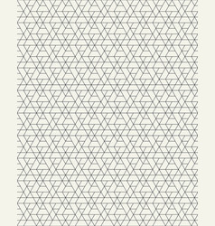 seamless pattern of geometric grid vector image