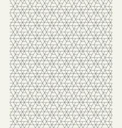 Seamless pattern of geometric grid vector